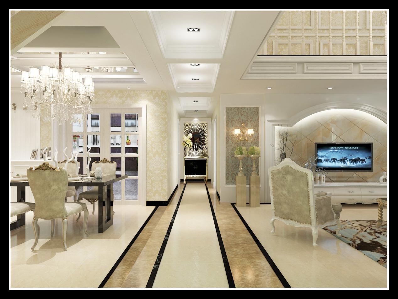 复式欧式风格 - 郑州恒天装饰设计有限公司